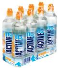 Кислородная вода ActiveO2 Апельсин-лимон 0,5л