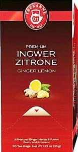 Пакетированный чай TEEKANNE Отборный элитный «Имбирь Лимон» (Гастро-упаковка)